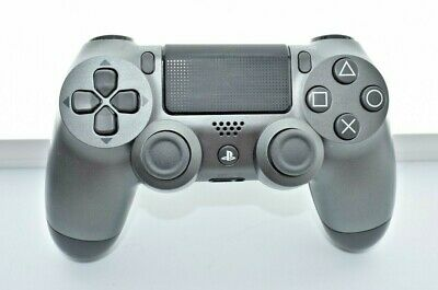 Genuine Official Sony Playstation 4 Dual Shock Ps4 Wireless Silver Controller