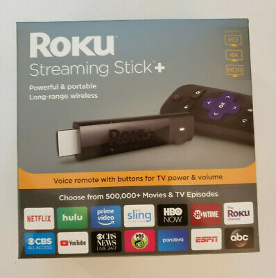 Roku Streaming Stick 4K Streaming Media Player with Voice Remote 3810R....NEW!!