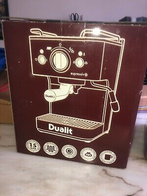 Dualit Expressivo Coffee Machine - Complete - Great Condition