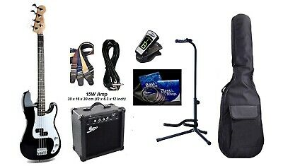Bass Guitar 4 String P style iMEB735 Package with Amp,Bag,Stand,tuner.Good Price