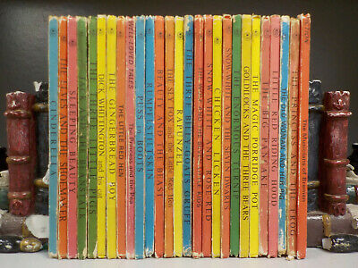 Ladybird Well Loved Tales 606D 27 Books ID7143