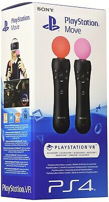 2 Sony PlayStation Move Motion Controller PS4 PS3PSVR GAMING ⚡ ⚡ ⚡ ⚡