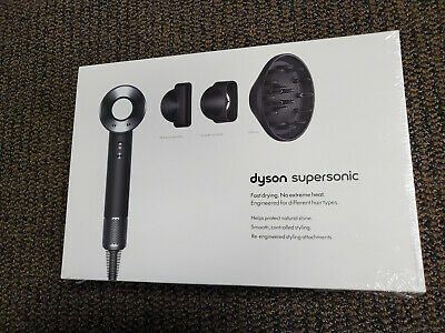 Brand New Factory Sealed in Original Box Dyson Supersonic Hair Dryer - Black