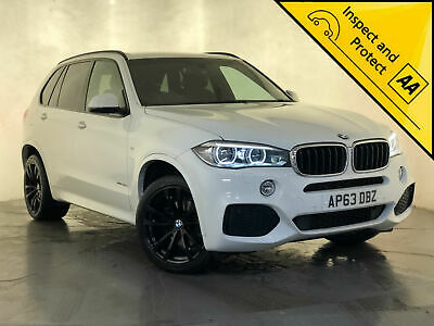 2014 Bmw X5 Xdrive30D M Sport Auto Sat Nav Heated Leather Seats Service History