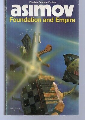 Foundation and Empire by Isaac Asimov: Vintage Sci-Fi Used Paperback. 1976