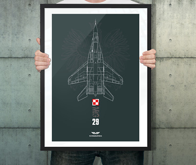 Photo Picture Poster Print Art A0 to A4 MIG 29 IN THE SKY ARMY POSTER AC185