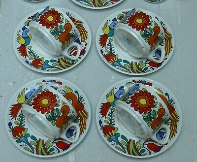 Villeroy & Boch Septfontaines variation Acapulco Tea Coffee Set 4 cups 4 saucers