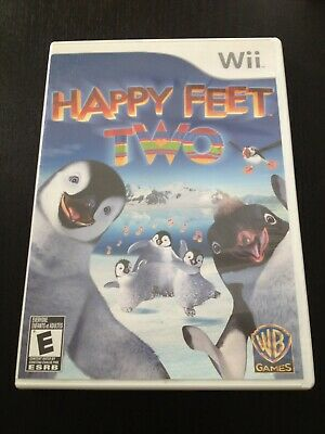 Happy Feet Two (Nintendo Wii Games, 2011) Complete