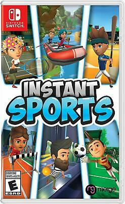 Instant Sports Nintendo Switch Brand New Factory Sealed