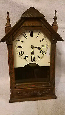 Antique Baby Gothic Steeple Clock!