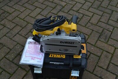 DeWalt DWS520 ,115v 165mm ,1300w Plunge Saw with T-STAK Case(superb condition)