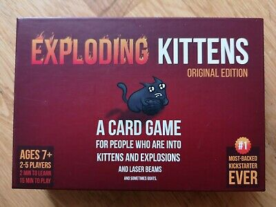 Exploding Kittens: Original Edition - Card Game