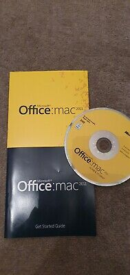 Genuine Microsoft Office Mac 2011 Home & Student Edition