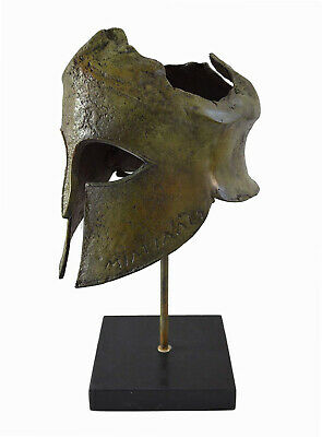 General Miltiades Bronze Helmet - Battle of Marathon - Olympia Museum Replica