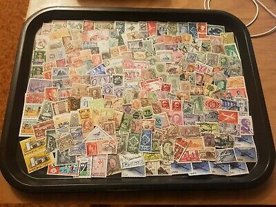 stamp collection unchecked condition lot 01