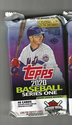 2020 Topps Baseball Series 1 Jumbo Hobby Pack Brand New and Factory Sealed