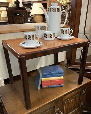 Small Vintage Mid Century Danish Rosewood Occasional Table