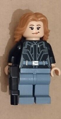 Genuine Lego Marvel Super Heroes Agent 13 Minifigure from Set 76051