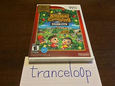 Animal Crossing City Folk Nintendo Selects Nintendo Wii BRAND NEW Factory Sealed