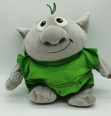 "TROLL Disney Store 11"" Reversible Soft Toy To A Rock From Disney Frozen NEW"
