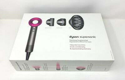 Dyson Supersonic Hair Dryer Fuchsia/Iron Brand New, Factory Sealed
