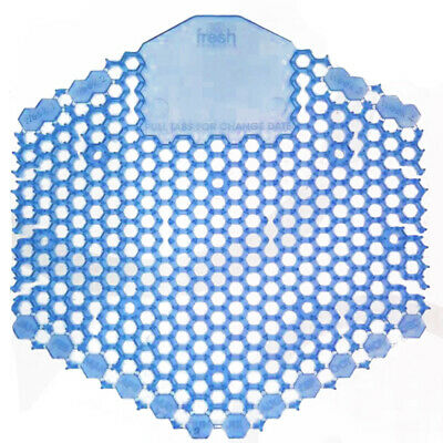 Fresh Products - Wave 3D Urinal Deodorizer Screen, Blue, Wintergreen Fragrance