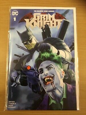 Batman Who Laughs The Grim Knight #1 (Greg Horn Variant) DC COMICS
