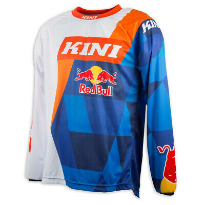 Kini Red Bull Jersey Vintage Orange/Blau