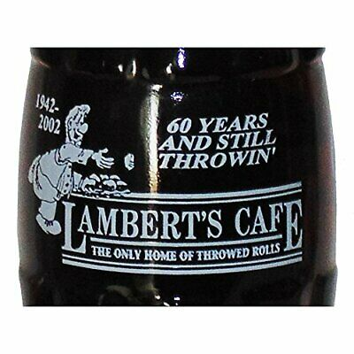 Lamberts Cafe 60 Years 2002 Coca-Cola Bottle (2001-2247)