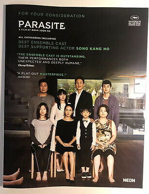Parasite Fyc Ad Bong Joon Ho   Academy Award Best Picture 2019