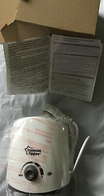 Tommee tippee electric bottle warmer new boxed