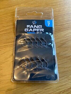 Nash Fang Gaper Barbless Clearance Packs