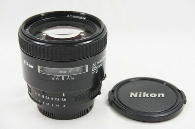 """EXCELLENT"" Nikon AF NIKKOR 85mm F1.8 Lens for F Mount #200122e"