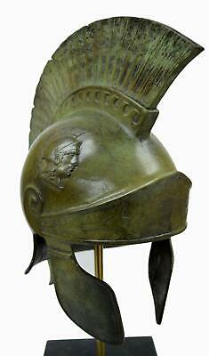 Athenian Attic Roman Bronze Helmet - Museum replica - Handmade in Greece