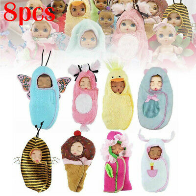 New CUTE BABY BORN Random Surprise Diaper Doll - Kid Gift UK 8 Types Simulation