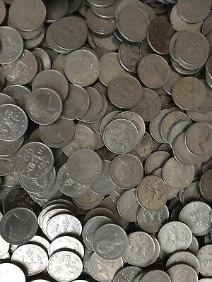 British Five New Pence Coins From Old Bulk 1968-1981 | Bulk Coins|Pennies2Pounds