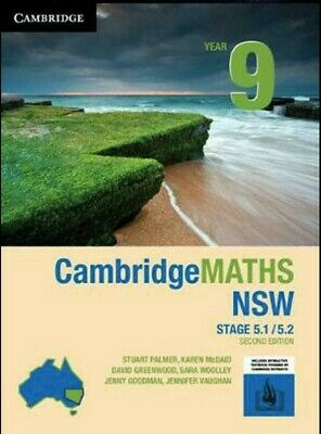 PDF ONLY: Cambridge Maths Year 9 5.1 5.2 Second Edition 2E Stage 5 Mathematics