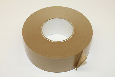 KRAFT GUMMED PAPER TAPE BROWN, 60mmx200m, WATER ACTIVATED. 70 MICRON.