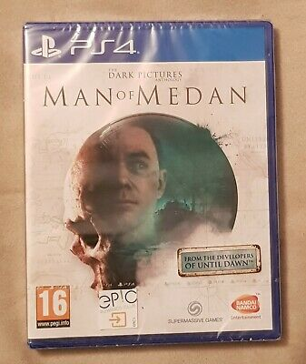 NEW SEALED PS4 Game - The Dark Pictures Anthology - Man of Medan