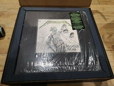 Metallica And Justice For All Deluxe EMPTY BOX ONLY Excellent Condition