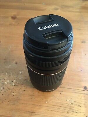 BRAND NEW Excellent Condition Canon Zoom Lens EF 75- 300 mm 1:4-5.6 III