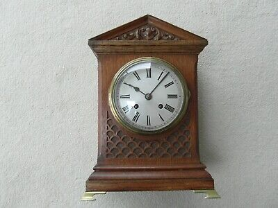 Vintage Antique Mantle Clock Striking Possibly German
