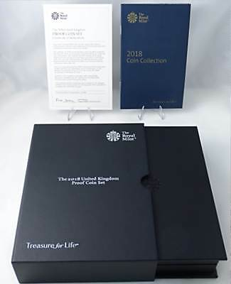 Official ROYAL MINT Empty 2018 Proof Coin Set + COA – No Coins Included