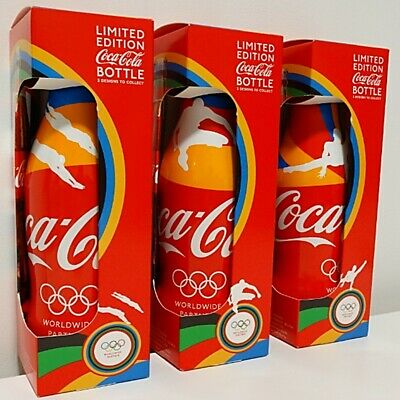 London 2012 Olympic Coca Cola Limited Edition Bottles Set - Complete Set