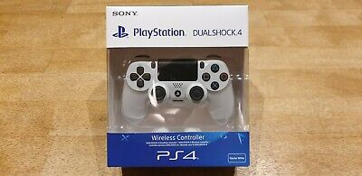 Sony Official Dualshock 4 Controller (White) (PS4) Brand New with box & sealed!!