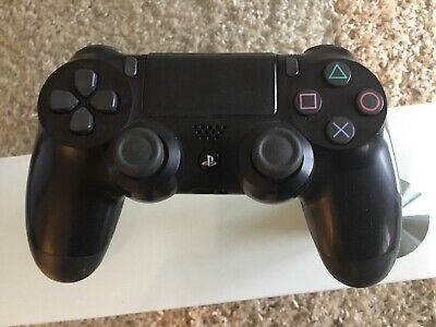 Sony Official Dualshock 4 Controller (Black) (PS4) Excellent Condition