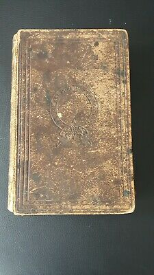 Victorian Family Holy Bible. Mid 19th century. Antique