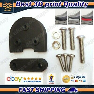 Support spacers raisers for 10 inch wheel electric scooter Xiaomi Mijia M365