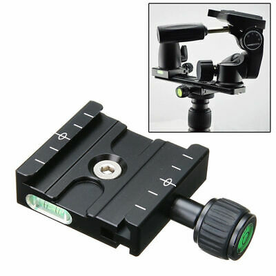QR-50 Quick Release Clamp Plate For Arca SWISS Manfrotto Gitzo Tripod Ball Heads