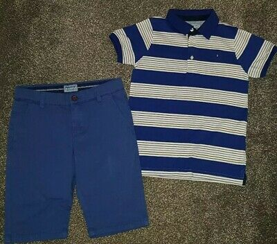 Boys Mayoral Shorts and T-shirt Age 7 Years RRP £78.00